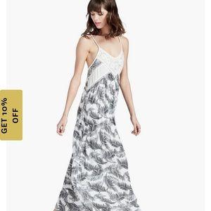 Sale✨Lucky Brand Palm Print Dress
